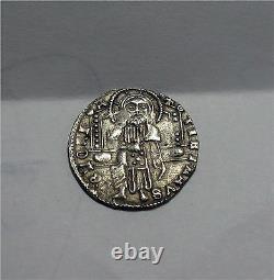 1423-57 Italy, Venice silver coin grosso Dodge FRANCESCO FOSCARI Rare VF/XF