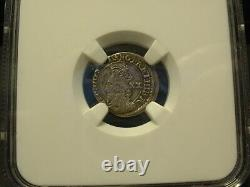 1637-42 Scotland 20 P Silver Coin Ngc-vf-30 Certified! Rare This Nice