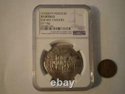 1653 MEXICO 8 REALES COLONIAL RARE SILVER COIN 27.1 Grs