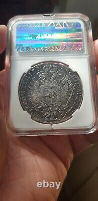 1738 Hungary / Austria Thaler Silver Coin Rare Taler Medieval Crown Dollar