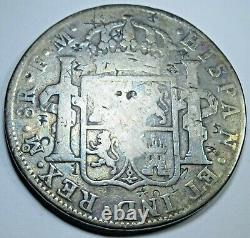 1776 Spanish Silver 8 Reales Rare 1970's Cayon Eight Real US Colonial Era Coin