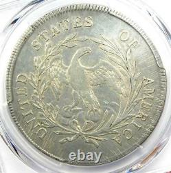 1795 Draped Bust Silver Dollar $1 Small Eagle PCGS VF Details Rare Coin