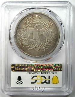 1795 Draped Bust Small Eagle Silver Dollar $1 PCGS VG Detail Rare Coin
