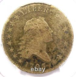 1795 Flowing Hair Bust Half Dollar 50C Certified PCGS VG Details Rare Coin