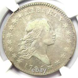 1795 Flowing Hair Bust Half Dollar 50C O-125 R4 NGC VF Detail Rare Coin