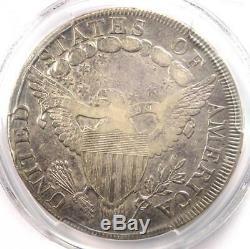 1798 Draped Bust Silver Dollar $1 BB-120 B-12 PCGS VF Details Rare Coin