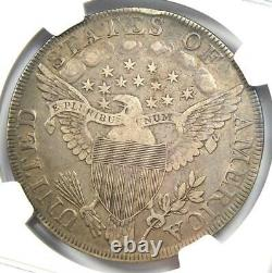 1798 Draped Bust Silver Dollar $1 Certified NGC VF Details Rare Coin