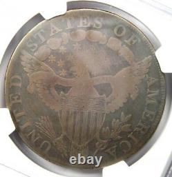 1798 Draped Bust Silver Dollar $1 Certified NGC VG Details Rare Coin