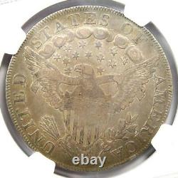 1798 Draped Bust Silver Dollar $1 Coin Certified NGC VF Details Rare