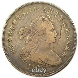 1798 Draped Bust Silver Dollar $1 VF/XF Details Rare Type Coin