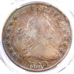 1800 Draped Bust Silver Dollar $1 AMERICAI BB-192 PCGS VF Details Rare Coin