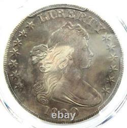 1800 Draped Bust Silver Dollar $1 Certified PCGS VF Details Rare Coin