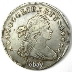 1800 Draped Bust Silver Dollar $1 Coin XF Details (EF) Rare Coin