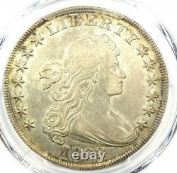 1802/1 Draped Bust Silver Dollar $1 Coin Certified PCGS AU Details Rare Date