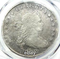 1802 Draped Bust Silver Dollar $1 Coin Certified PCGS VF Detail Rare Date