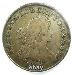 1803 Draped Bust Silver Dollar $1 Coin ANACS VG10 Details Rare Date
