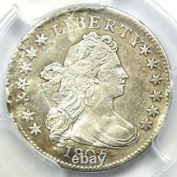 1805 Draped Bust Dime 10C Certified PCGS Fine Details (Plugged) Rare Coin