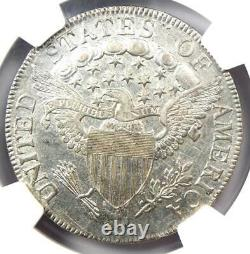 1807 Draped Bust Half Dollar 50C Coin Certified NGC AU Detail Rare Date