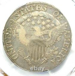 1807 Draped Bust Half Dollar 50C PCGS VF Details Rare Certified Coin