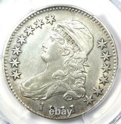 1811 Capped Bust Half Dollar 50C Certified PCGS AU Details Rare Coin