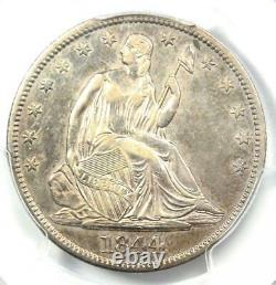 1844 Seated Liberty Half Dollar 50C Certified PCGS XF Details Rare Coin