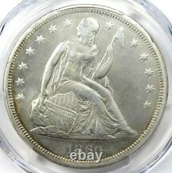 1860-O Seated Liberty Silver Dollar $1 Certified PCGS VF Detail Rare Coin
