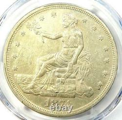 1874-CC Trade Silver Dollar T$1 PCGS XF Details (EF) Rare Carson City Coin