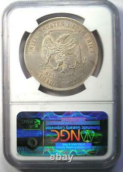 1875-CC Trade Silver Dollar T$1 Certified NGC AU55 Rare Carson City Coin