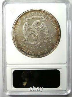 1878-S Trade Silver Dollar T$1 Certified ANACS AU50 Details Rare Coin