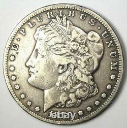 1879-CC Morgan Silver Dollar $1 Choice VF Detail Rare Carson City Coin