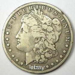 1879-CC Morgan Silver Dollar $1 Fine / VF Detail Rare Carson City Coin