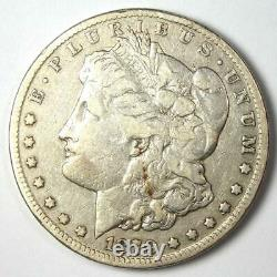 1879-CC Morgan Silver Dollar $1 VF Detail Rare Carson City Coin