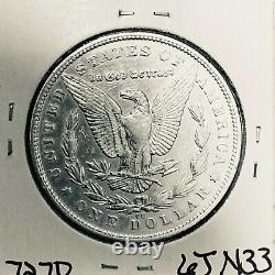 1879 CC Morgan Silver Dollar Hi Grade Genuine U. S. Mint Rare Key Coin 7270