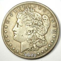 1880-CC Morgan Silver Dollar $1 VF / XF Details Rare Carson City Coin