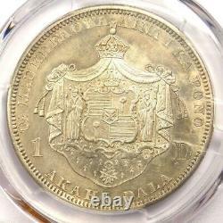1883 Hawaii Kalakaua Dollar $1 PCGS AU Details Rare Certified Silver Coin