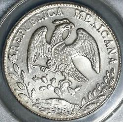 1884-As ICG MS 62 Mexico 8 Reales Rare Alamos Mint Silver Coin (21060403C)