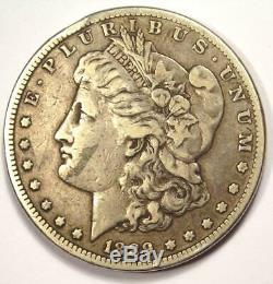 1889-CC Morgan Silver Dollar $1 VF Details Rare Date Carson City Coin