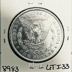 1890 CC Bu Gem Morgan Silver Dollar Unc-ms++u. S. Mint Rare Key Coin 8983
