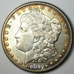 1890-CC Morgan Silver Dollar $1 XF / AU Details Rare Carson City Coin