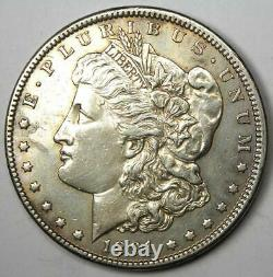 1891-CC Morgan Silver Dollar $1 Choice AU Details Rare Carson City Coin