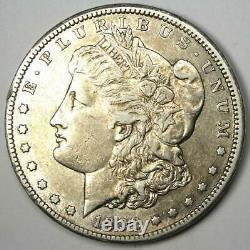 1892-CC Morgan Silver Dollar $1 Choice XF / AU Detail Rare Carson City Coin