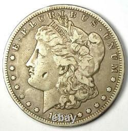 1893-CC Morgan Silver Dollar $1 Choice VF Details Rare Carson City Coin