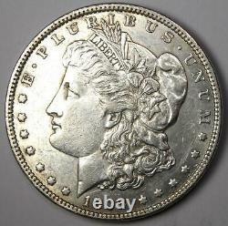 1893 Morgan Silver Dollar $1 (1893-P) Choice AU Details Rare Date Coin