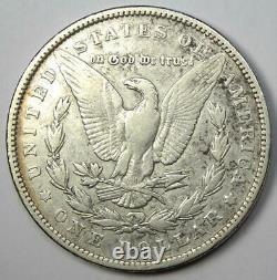 1893 Morgan Silver Dollar $1 (1893-P) Choice VF Details Rare Date Coin