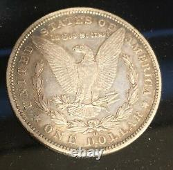 1895-O $1 New Orleans Mint Silver Morgan Dollar Key Date Rare Coin LOOK
