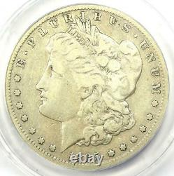 1895-S Morgan Silver Dollar $1 Certified ANACS F15 Details Rare Coin