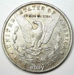 1895-S Morgan Silver Dollar $1 XF Details (EF) Rare Date Coin