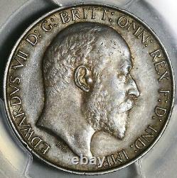 1904 PCGS AU 53 Florin Edward VII Great Britain Rare Silver Coin (20070403C)