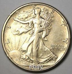 1918-S Walking Liberty Half Dollar 50C Coin AU Details Rare Date Coin