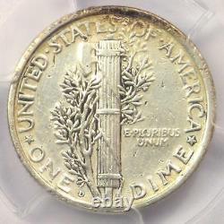 1921-D Mercury Dime 10C Coin Certified PCGS XF Details (EF) Rare Key Date